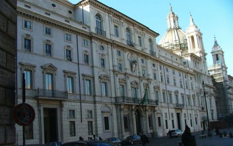 Roma - Sede Ambasciata Brasiliana in Piazza Navona