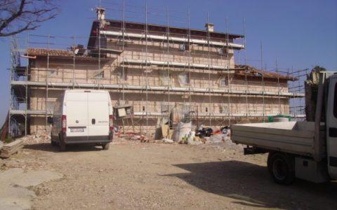 Villa Privata di nuova costruzione con materiali Calceforte