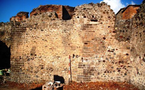 Restauro degli scavi di Pompei