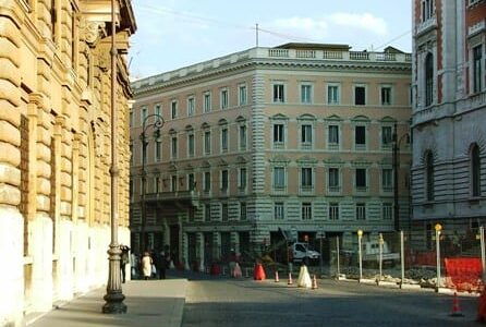 Referenze di Calceforte presso Camera dei Deputati, via del Corso