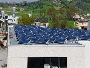 Calceforte pannelli solari - bioedilizia e recupero di edifici storici