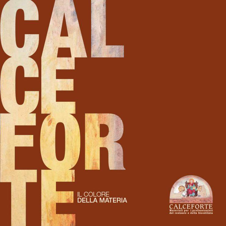Catalogo Calceforte Materiali per i professionisti del restauro e della bioedilizia